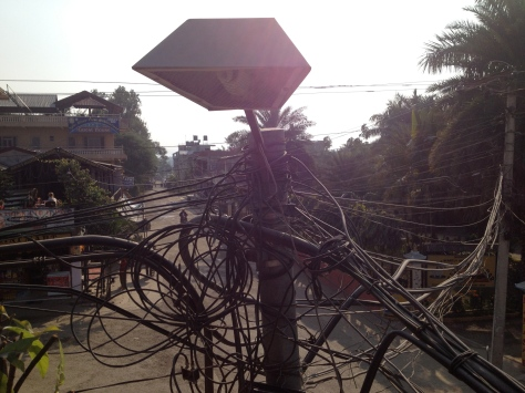 Maybe this explains  why there are powercuts all the time in Nepal