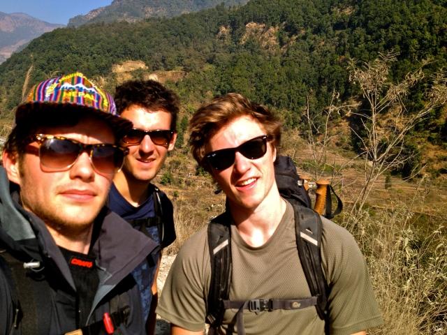 Day 1: Besi Sahar (800 m) - Ngadi (900 m)