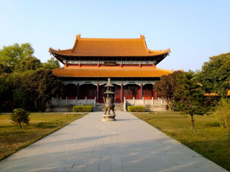 The Chinese monastary just near the Korean one.