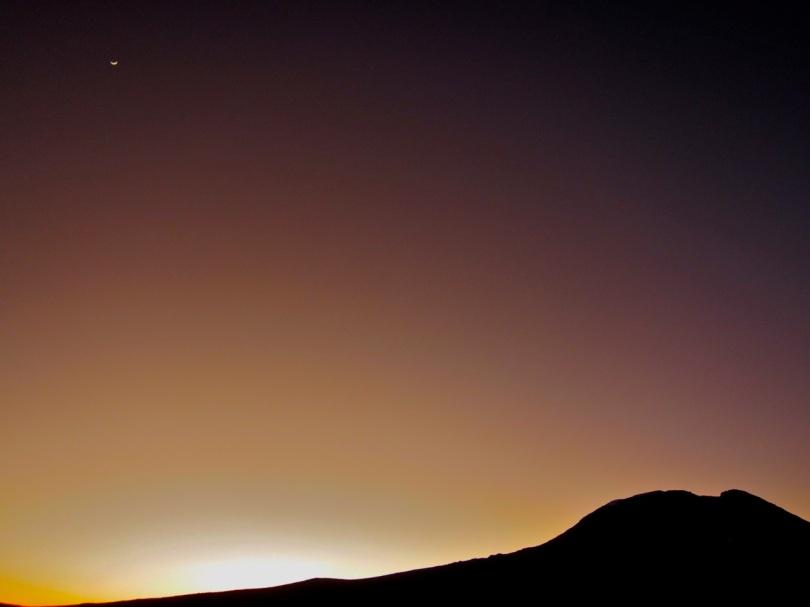 Kibo Kilimanjaro sunrise