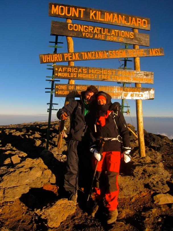 uhuru kilimnajaro peak