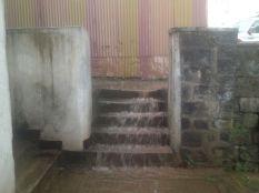 Staircase water taitu hotel addis ababa rain