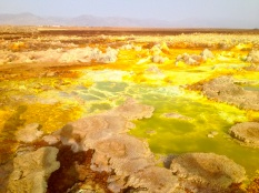 Danakil Desert: the Sulphur Lake