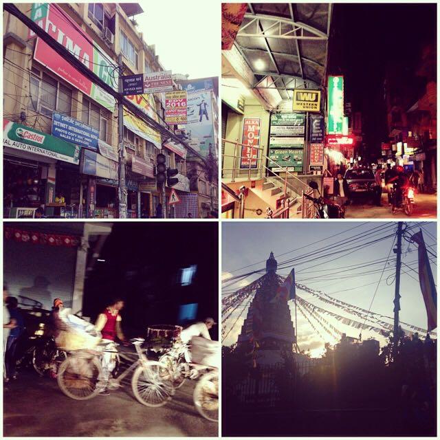 Driving in Kathmandu
