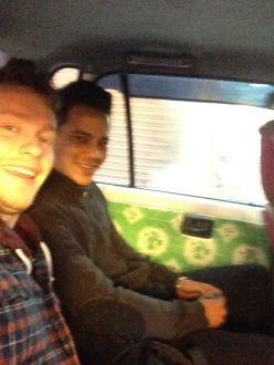 Justin and David in KTM