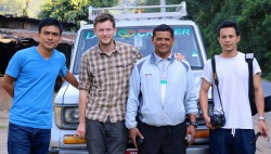 The AHCN team with driver