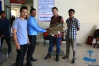 Mr. Paresh of CMCTH, Dr. Justin, Dr. Saujan and myseld.
