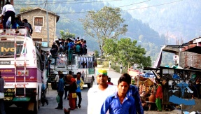 Road side village