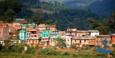 Classic village. This is in Salyan, the district before Rukum.