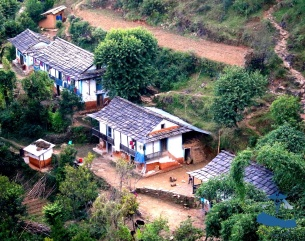 Traditional Nepali houses