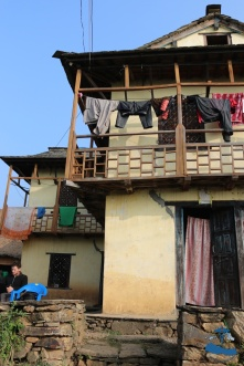 Traditional Nepali house close-up #2 Musikot