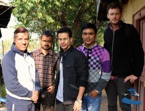 AHCN and the Local Development Officer Mr. Mr. Bharat Sharma
