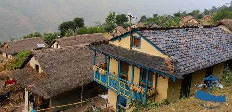 Traditional Nepali house