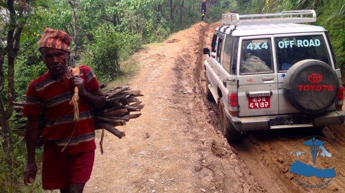AHCN # 6 Reaching Rukum on Impossible Roads.