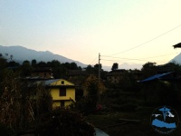 Evening view of Musikot.
