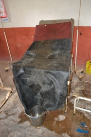 Labour bed, Salle Bajjar District Hospial, Rukum, rural, Nepal