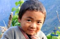Local kid in Bhattechaur, Rukum, Nepal.