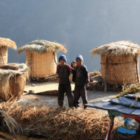 Local kids in Rukum, Bhattechaur #3