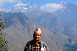 Incredible Rukum Mountain range (Dhaulagiri) with Mr Chandra Malla