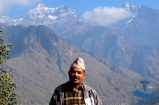 Incredible Rukum Mountain range (Dhaulagiri) with Mr Chandra Malla