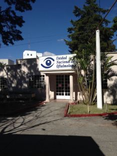 Department of Ophthalmology at Roosevelt Hospital, Guatemala.