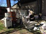 """Broken equipment in the equipment """"junk yard"""" #3"""
