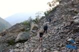High risk of Rock-slide area