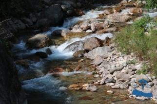 Sherri river waterfalls