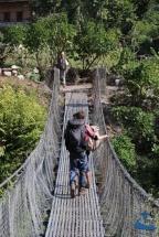 Crossing Bheri River