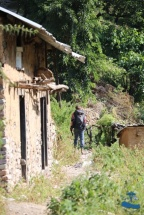 Walking through Rukum villages
