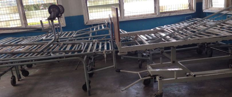 Broken equipment at Mount Meru Hospital #10